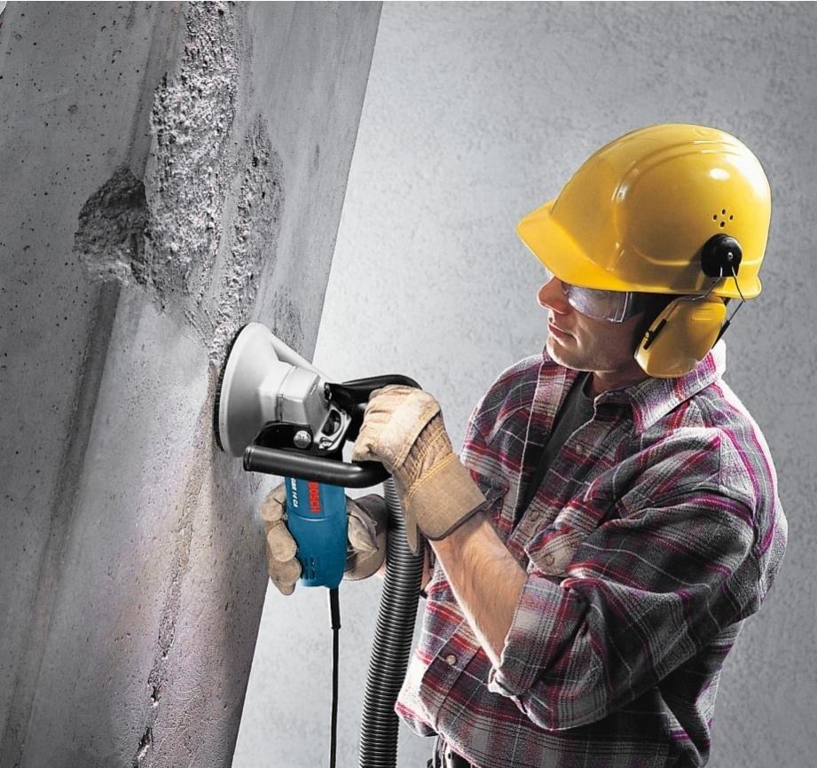 Шлифовка бетона стен краситель по бетону